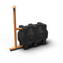 2 3 - Гермоввод для кессона 125/133мм