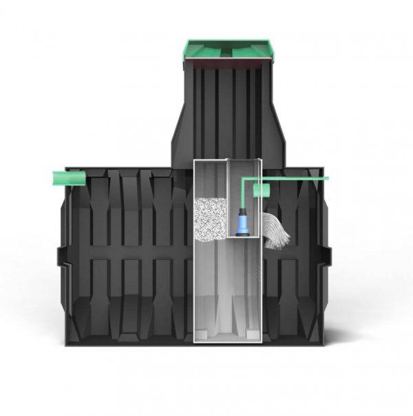 13pr 3 600x605 - Септик Термит Трансформер 1.3 PR