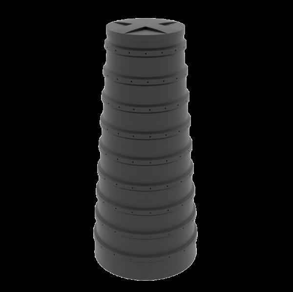 item 301 600x598 - Конусный дренажный колодец 2 м
