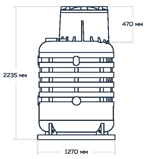 Кессон для скважины Термит 2-5-big